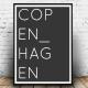 Dark Copenhagen Poster