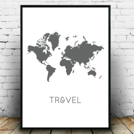 World travel poster- Metropolife