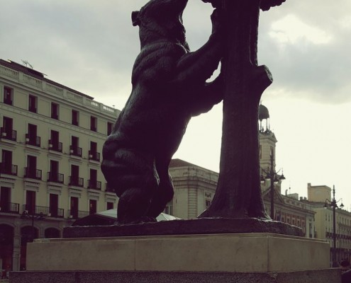 Iconic bear of Madrid