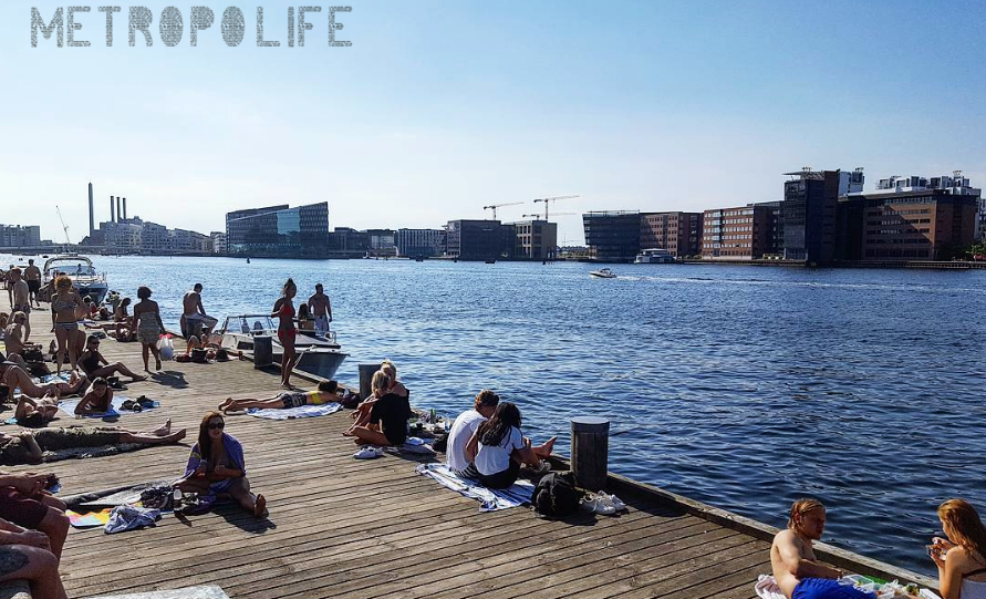 Islands Brygge on a sunny day :)