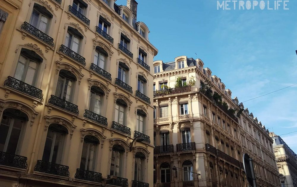 Facades of Lyon