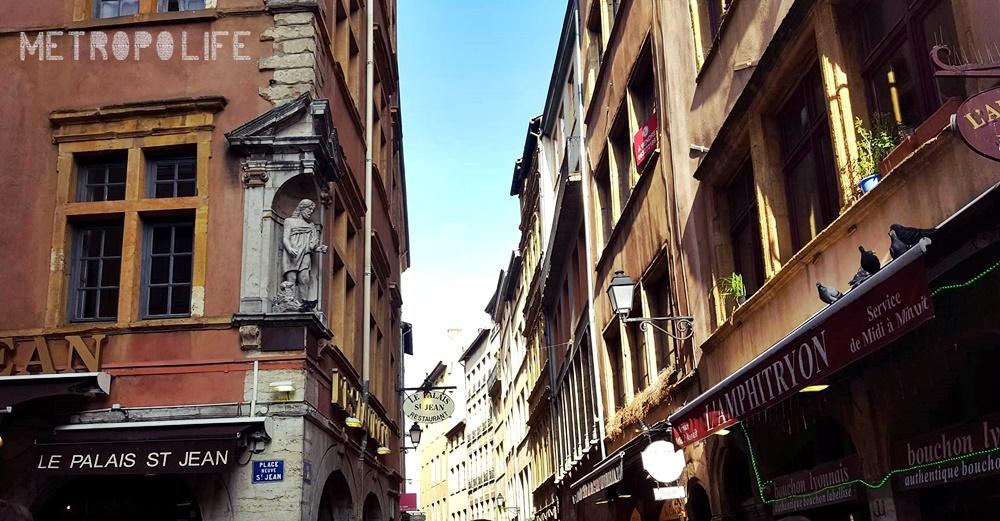 Facades of Vieux Lyon