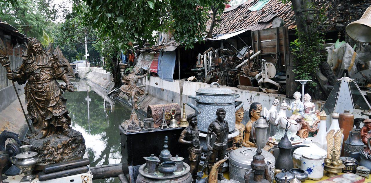 Antique Market in Jakarta