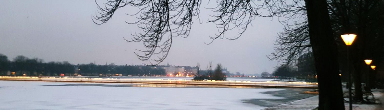 The lakes copenhagen winter