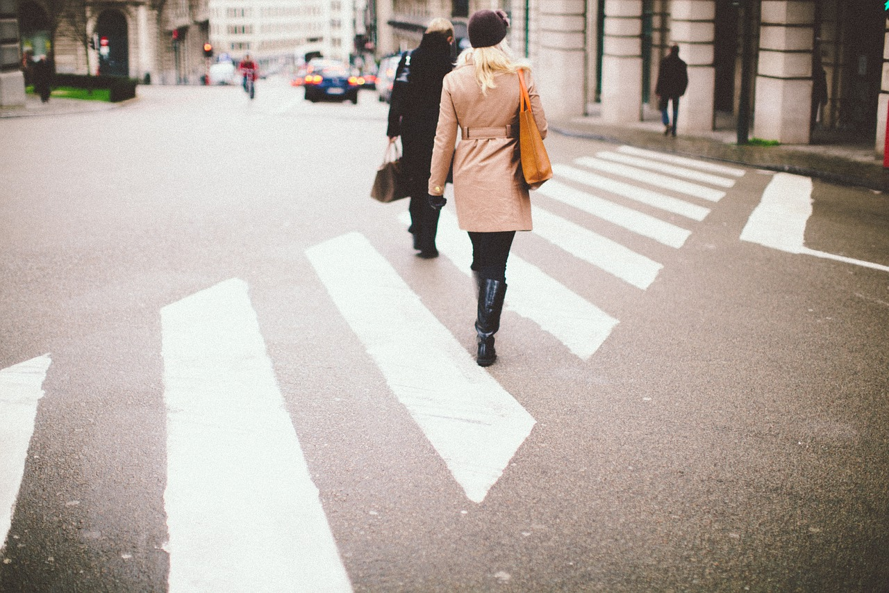 French people don't care about crosswalk, or jay walking or any kind of traffic rules