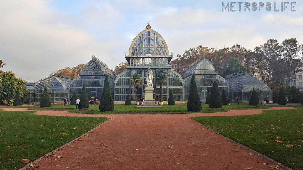 Parc de la Tête d'Or green house