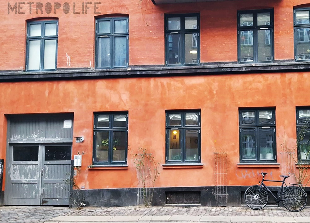 The facades in Norrebro